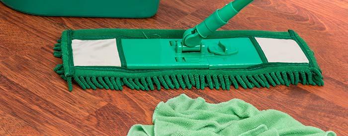 schoonmaken Houten